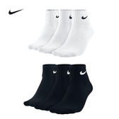 (特價) Nike 短襪 SX4703-101 001 SX4706三雙一組 3PAK LIGHTWEIGHT QUARTER