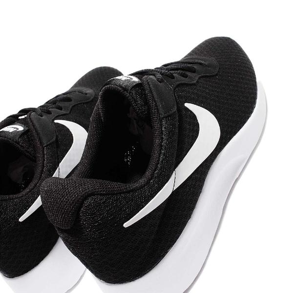 Nike 休閒鞋 Tanjun 復古 黑底白勾 透氣網布 黑 白 基本款 黑白 男鞋 女鞋【ACS】 812654-011