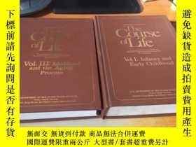 二手書博民逛書店THE罕見COURSE OF LIFE Vol.I: infancy and Early Childhood Vo
