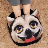 暖腳墊 暖腳寶冬天暖腳神器充電女宿舍床上睡覺用加熱墊捂腳辦公室電暖鞋 韓菲兒