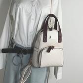 實拍上新包包2019新款撞色小雙肩包女韓版ins超火少女迷你小背包潮包居享優品