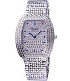 Ogival 愛其華 晶華系列璀璨珠寶腕錶-銀 3872MW