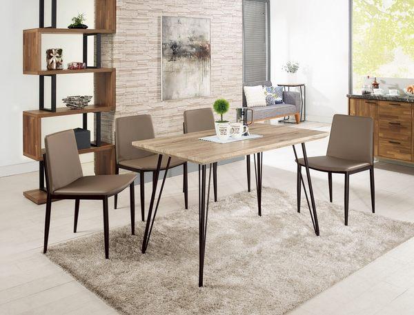 【森可家居】比爾4尺餐桌(不含椅) 7CM474-1