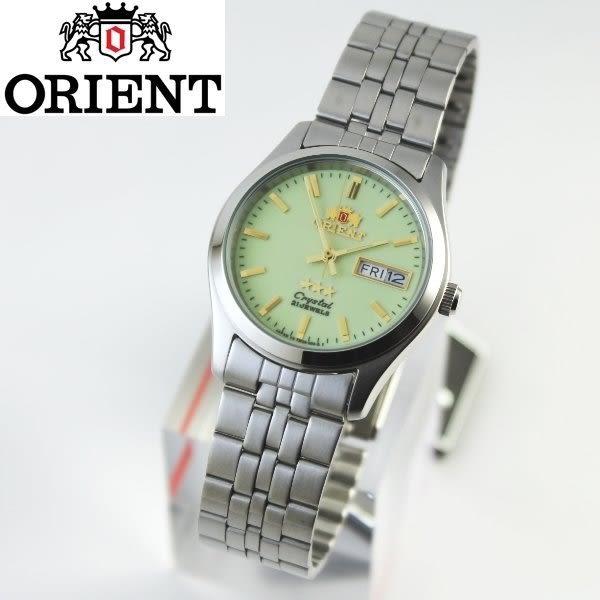 【時間光廊】日本東方錶 ORIENT 日製 中型尺寸 數字面 自動上鍊 機械錶 全新原廠公司貨 SPM0001HR8