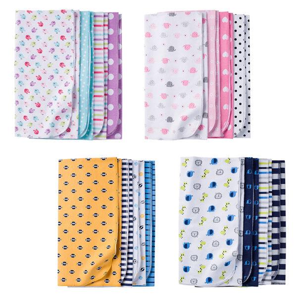 嬰兒毯 Gerber Childrenswear 嬰兒包巾 / 棉毯 超值4件組 - 4款 5215-0900