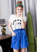 【2%】 miffyX2%twopercent 米飛高腰綁帶褲裙
