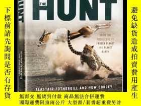 二手書博民逛書店獵捕罕見The Hunt 英文原版 BBC自然系列紀錄片 冰凍星