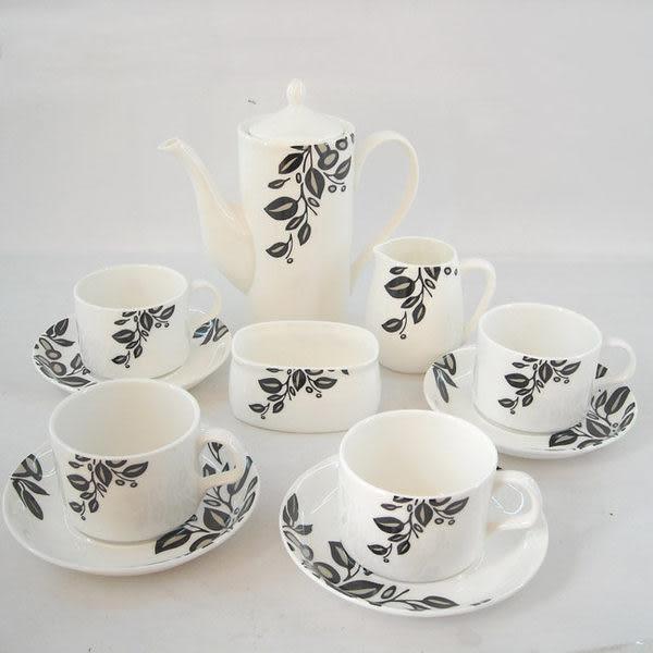 高檔骨瓷禮品咖啡具 憶江南