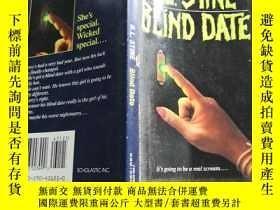 二手書博民逛書店Blind罕見date (《盲約》英文原版)Y168754 R. L. STINE Scholastic 出