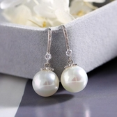 【新飾界】珍珠耳環:長款韓國氣質名媛耳墜
