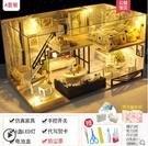diy小屋閣樓別墅手工制作房子模型拼裝創意中國風生日禮物送女友 蘿莉新品