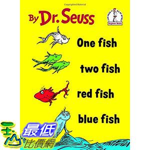 [106美國直購] 2017美國暢銷兒童書 One Fish Two Fish Red Fish Blue Fish (I Can Read It All by Myself)