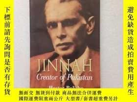 二手書博民逛書店JINNAH罕見CREATOR OF PAKISTAN(英文原版