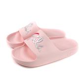 FILA 拖鞋 戶外 防水 女鞋 粉紅色 4-S326U-551 no073