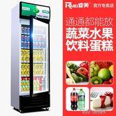 冷藏櫃 展示櫃冷藏櫃立式商用雙門冰櫃冰箱啤酒超市水果保鮮櫃飲料櫃 第六空間 igo