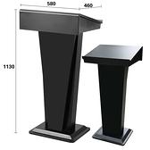 順南演講台主席發言台迎賓前台接待台會議主持台簡約講台桌咨客台 「免運」