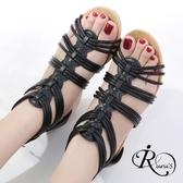 歐美復古民俗風線條設計楔型涼鞋/3色/35-41碼 (RX0189-2024) iRurus 路絲時尚