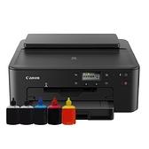 【搭100cc五色填充墨水】CANON PIXMA TS707 A4 噴墨相片印表機