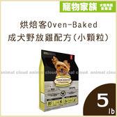 寵物家族-烘焙客Oven-Baked - 成犬野放雞配方(小顆粒)5lb