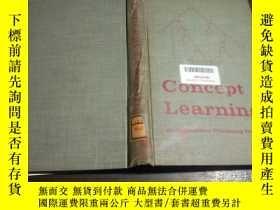 二手書博民逛書店日英法德意等外文原版Concept罕見Learning An information peocessing pro