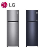 LG  253公升 直驅變頻上下門冰箱 GN-L307SV 星辰銀 / GN-L307C 星曜藍