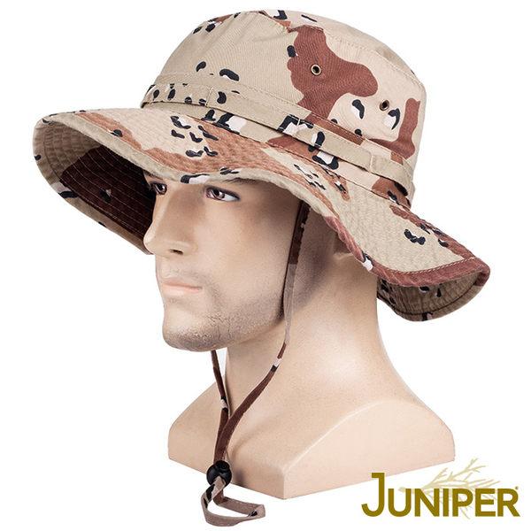 防曬帽漁夫帽子-全棉戶外抗UV寬邊防潑水超大頭圍尺寸牛仔遮陽防風帽J7804 JUNIPER朱尼博