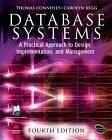 二手書 Database Systems: A Practical Approach to Design, Implementation and Management (4th Edition) ( R2Y 0321210255