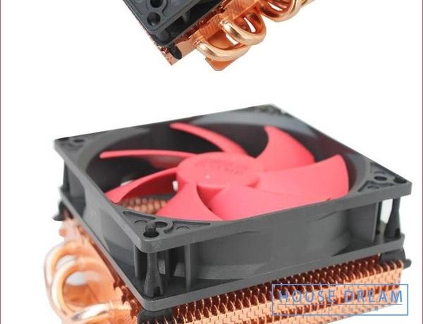 電腦散熱器 4熱管顯卡散熱器 靜音臺式機電腦熱管顯卡散熱風扇