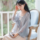 漢服中國風超仙女防曬衣開衫外套女春夏配裙子的洋氣外搭披肩薄款 米娜小鋪