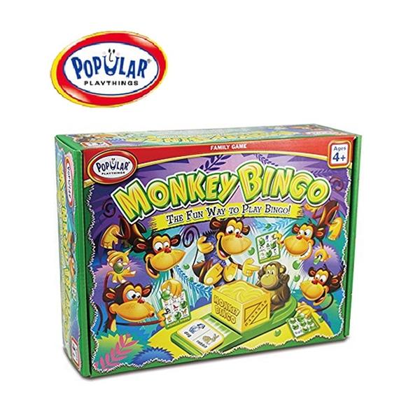 【美國 POPULAR】頑皮小猴學賓果 Monkey Bingo POP50501
