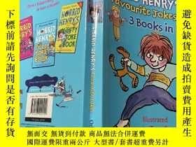 二手書博民逛書店Horrid罕見Henry s favourite jokes 3in1:可怕的亨利最喜歡的笑話3合1Y200