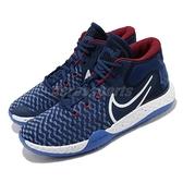 Nike 籃球鞋 KD Trey 5 VIII EP USA 藍 紅 男鞋 美國隊 React 杜蘭特 運動鞋 【ACS】 CK2089-402