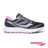 SAUCONY COHESION 12 專業訓練女鞋-石墨灰x淺紫