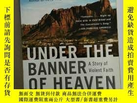 二手書博民逛書店under罕見the banner of heaven a st