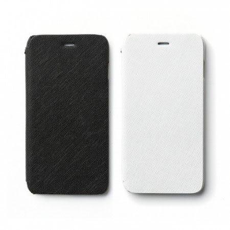 【00511】 [Apple iPhone 6 / 6S Plus (5.5)] Zenus Minimal Diary 商務十字紋 書本式皮套