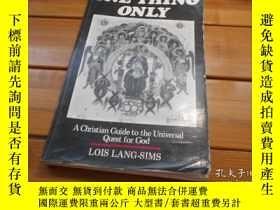 二手書博民逛書店ONE罕見THING ONLYY20470 Lois Lang