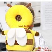 寶寶小孩帽嬰兒夏季護頭枕頭部學走路兒童學步防撞保護墊【齊心88】