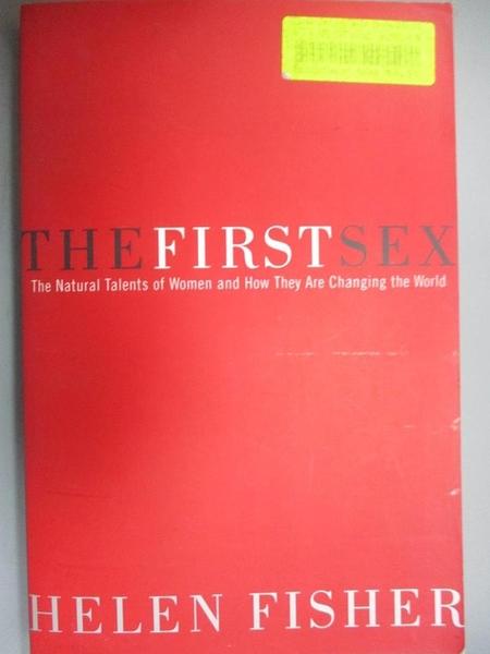 【書寶二手書T7/保健_D9U】The First Sex