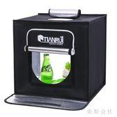 86折220Vled40cm攝影棚攝影燈套裝攝影器材柔光箱背景紙攝影道具CC3444『美鞋公社』