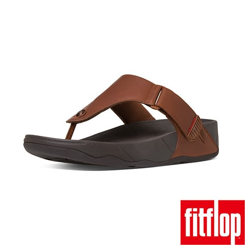 FitFlop TM _TRAKK II TM LEATHER-深褐色