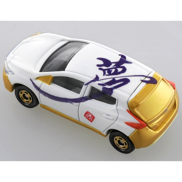 TOMICA 2019新年車 吉川書法系列 夢 TM61446白色多美小汽車