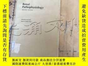 二手書博民逛書店Renal罕見pathophysiologyY11418 Ale