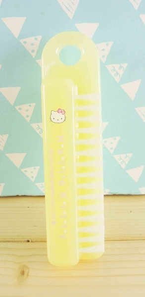 【震撼精品百貨】Hello Kitty 凱蒂貓~KITTY衣刷-黃色