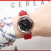 618好康鉅惠 手錶女學生時尚韓版簡約大氣潮流水鑚石英錶