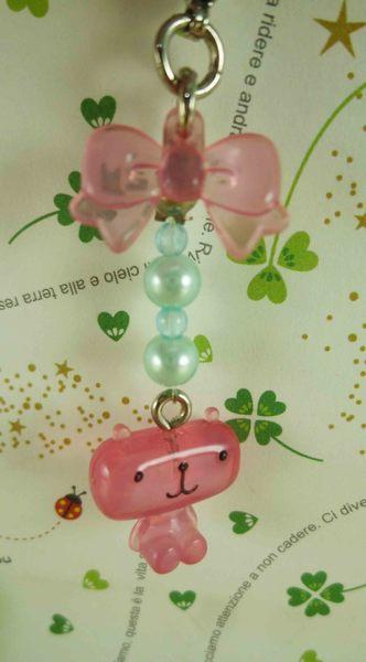 【震撼精品百貨】貝蒂熊_Betty Bear~手機吊飾-粉