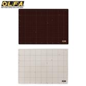 耀您館|日本製OLFA雙面灰褐+咖啡色135B裁切墊CM-A3切割墊防滑墊工具墊美工墊工藝墊桌墊模型墊