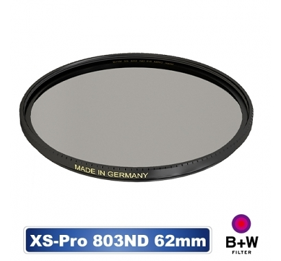 B+W XS-PRO 803 ND 0.9 ND8 MRC nano 62mm 高硬度奈米鍍膜 減3格【公司貨】BWF
