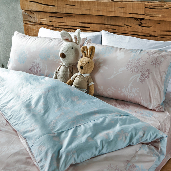 床包 / 雙人【夢遊愛麗絲】含兩件枕套  100%精梳棉  戀家小舖台灣製