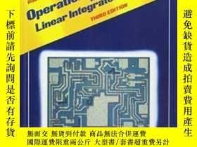 二手書博民逛書店Operational罕見Amplifiers And ar Integrated Circuits-運算放大器和