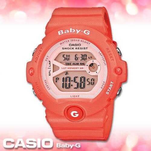 CASIO卡西歐 手錶專賣店  Baby-G BG-6903-4D 女錶 電子錶 繽紛嫩彩 運動 礦物玻璃 防水200米 膠質錶帶